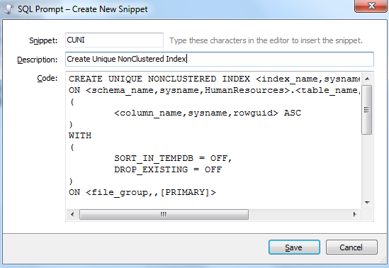 SQL_PROMPT_CREATE_SNIPPET