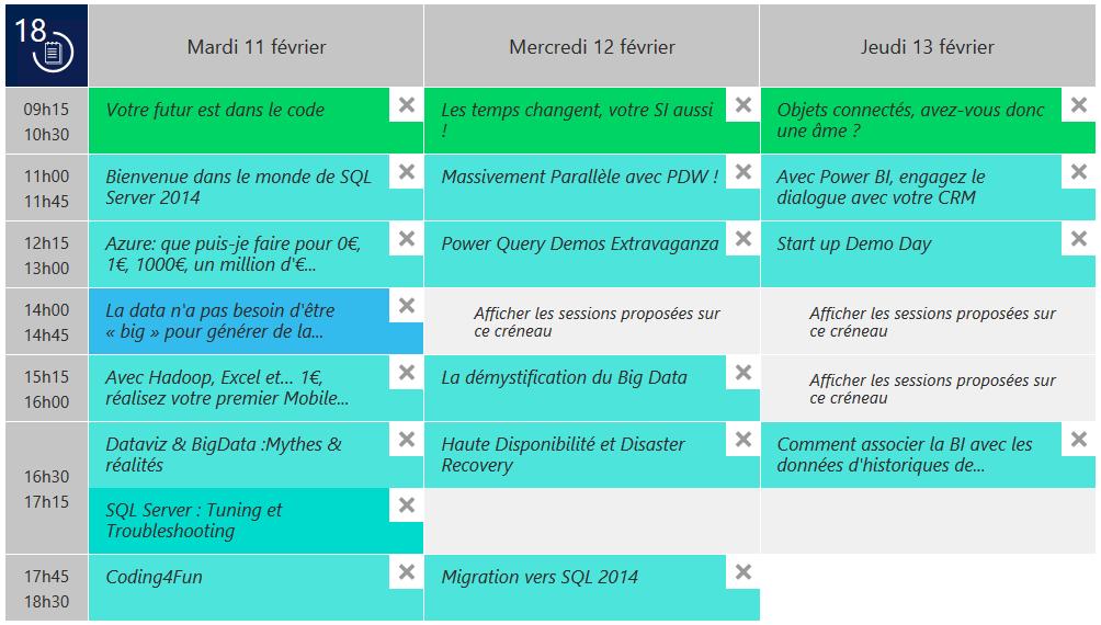 TechDays2014Planning