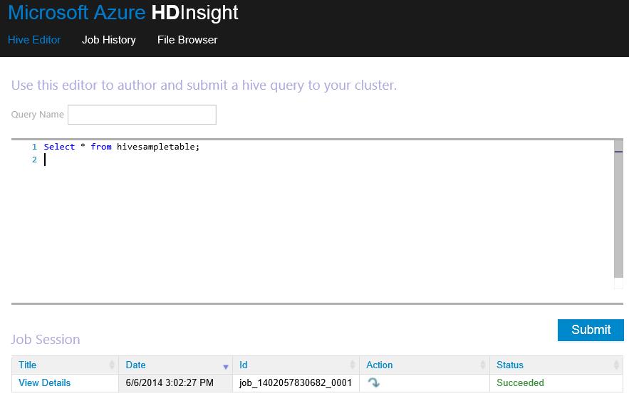 HDInsight_Hive
