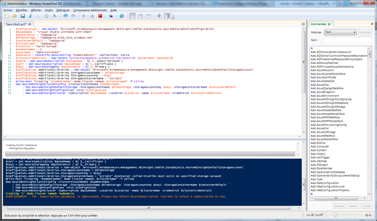 PowerShell_HDInsight
